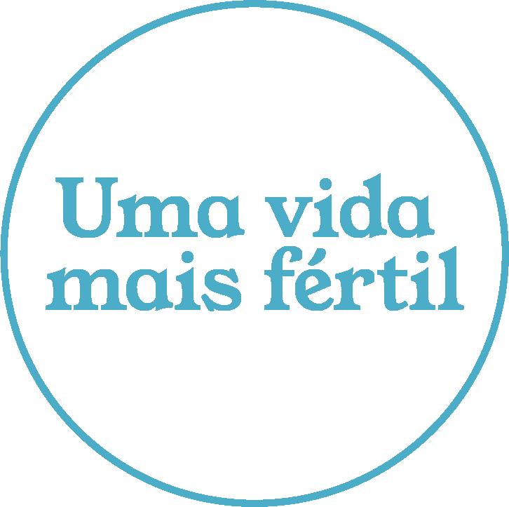 Uma Vida Mais Fertil Logo Azul